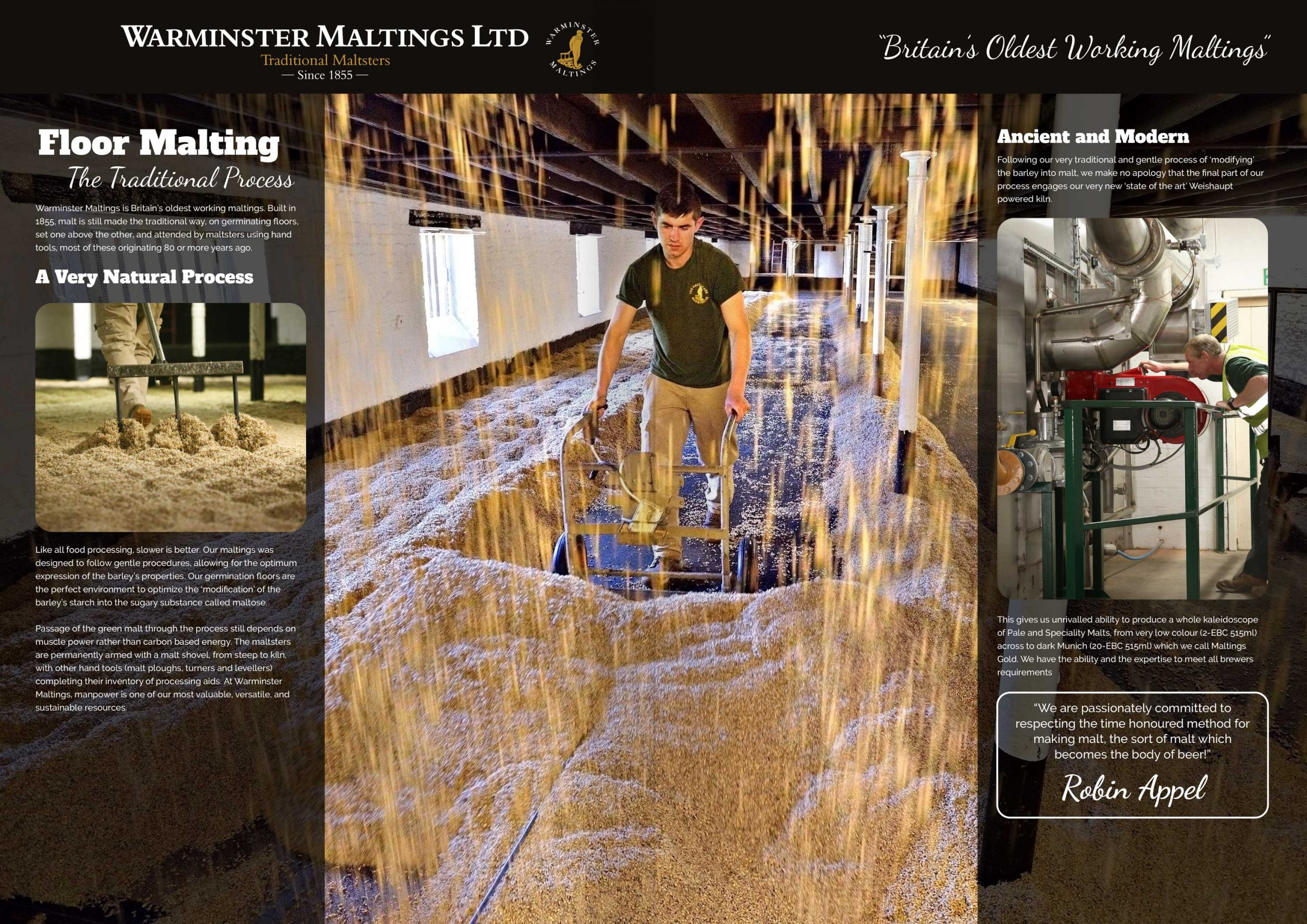 Warminster Maltings - The Traditional Process