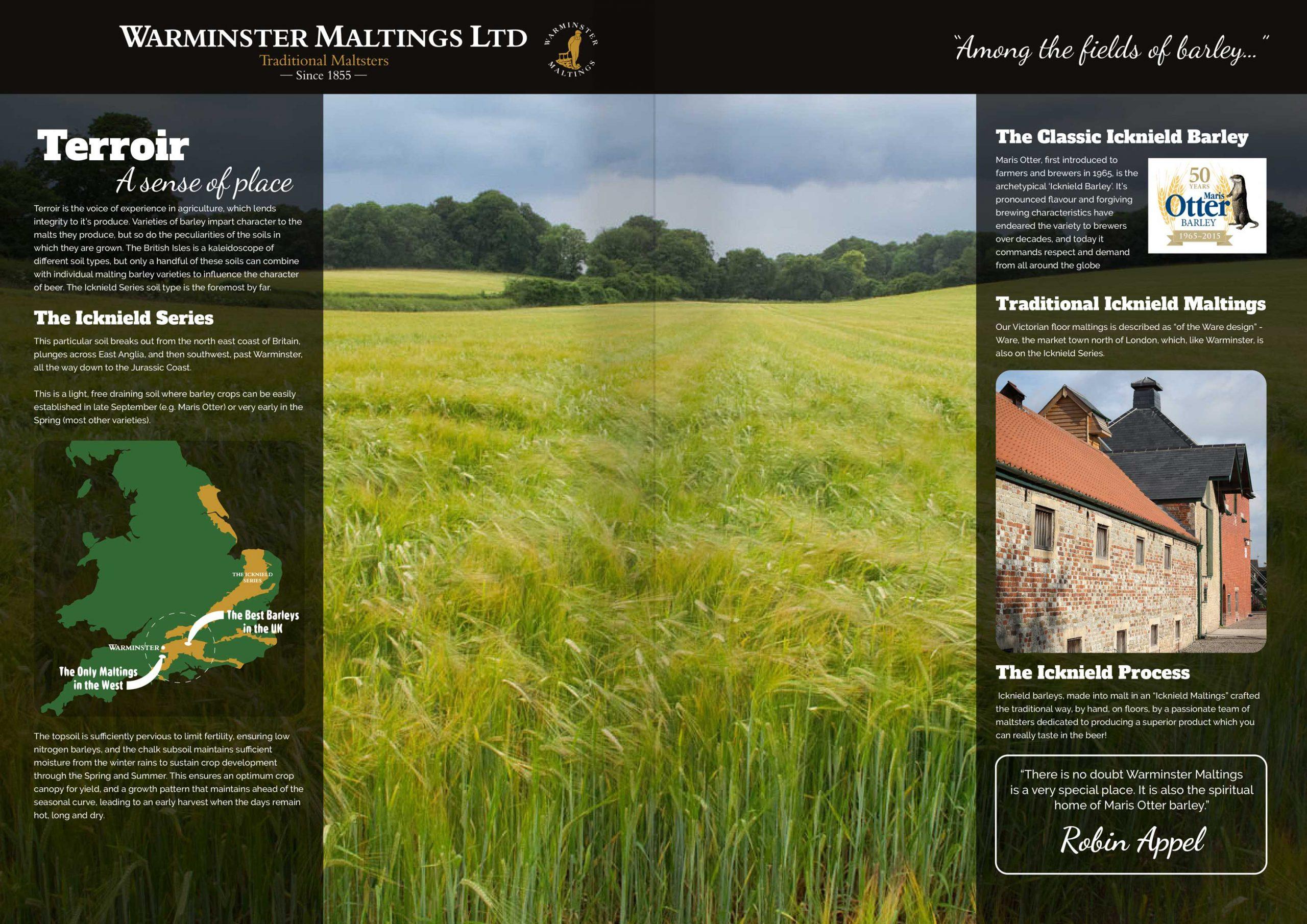 Warminster Maltings - Terroir a sense of place
